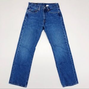 Levi's 501 Button Fly Vintage Mom Jeans 27